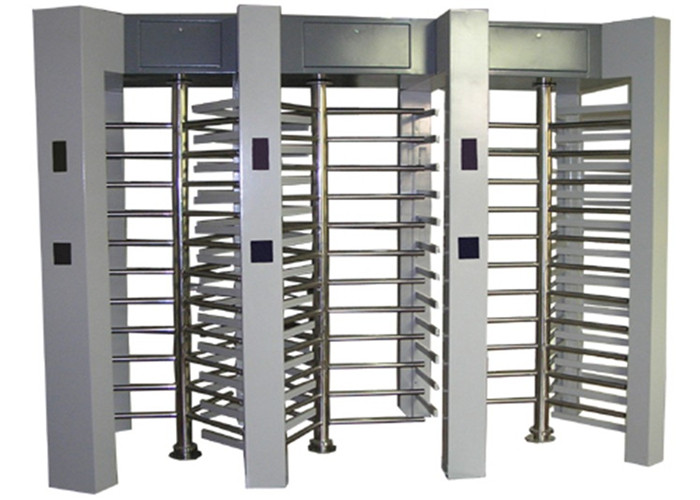 Semi Automatic Controlled Access Turnstiles , Heavy Duty Security Turnstile Gate