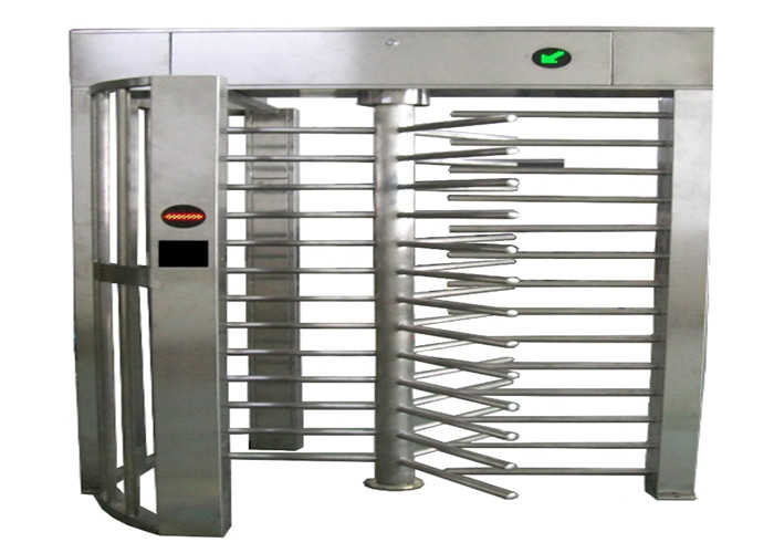 Prison / Subway Automatic Systems Turnstiles Full Height With 120 Degree Rotating
