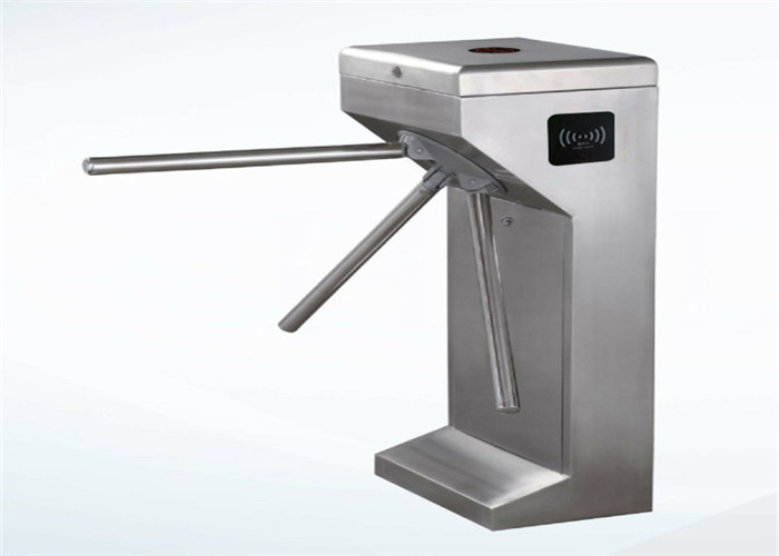 Optimized bus station pedestrian turnstile gate waist high automatic tripod turnstile barrier