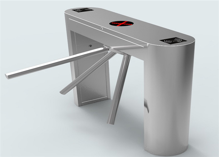 Pedestrian access control turnstile security gates with RFID control system