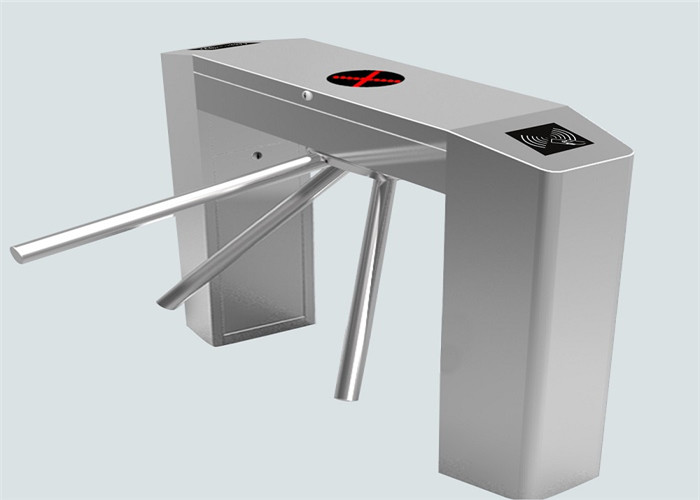 Outdoor IP 54 stainless steel framework Drop Arm Turnstile with rfid card reader