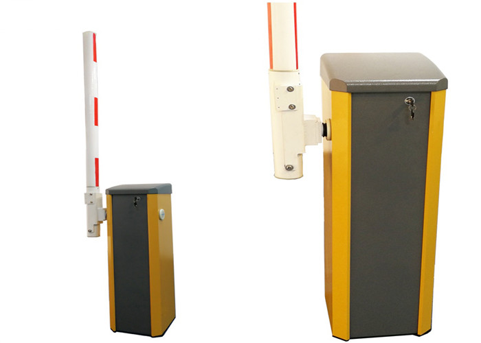 Wind Power Full Automatic Barrier Gate , Car Park Barrier Gate For Toll Gate System