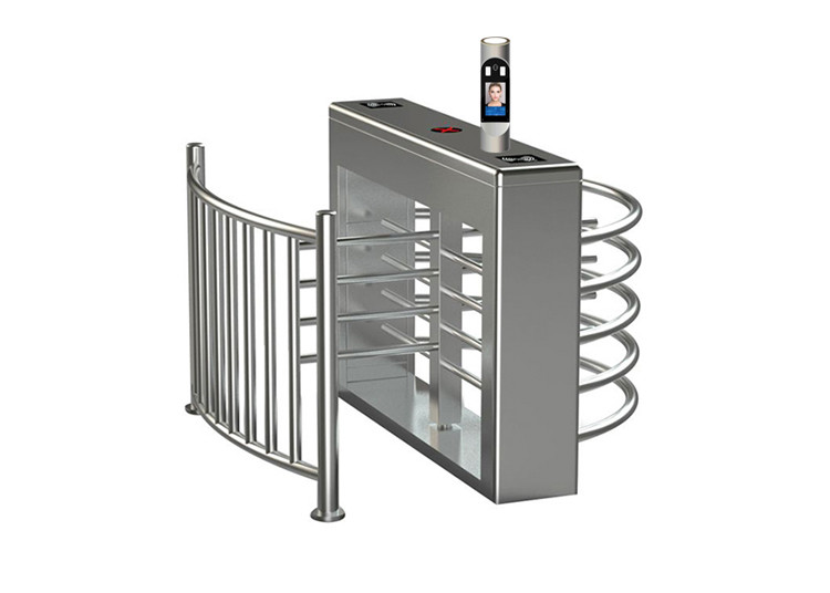 Waist Height IP65 SUS304 Revolving Turnstile Barrier